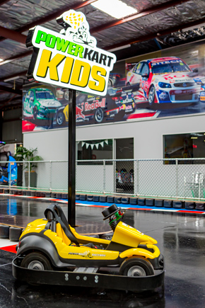 Power Kart Kids track and kart